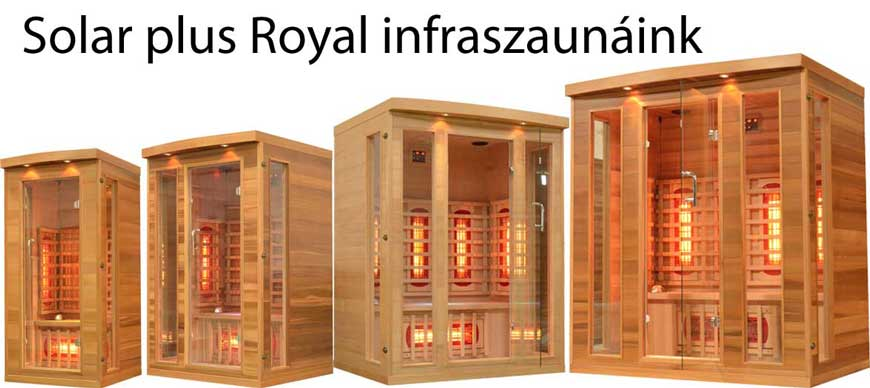Solar plus Royal infraszauna